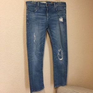 Anthropologie pilcro distressed denim jeans