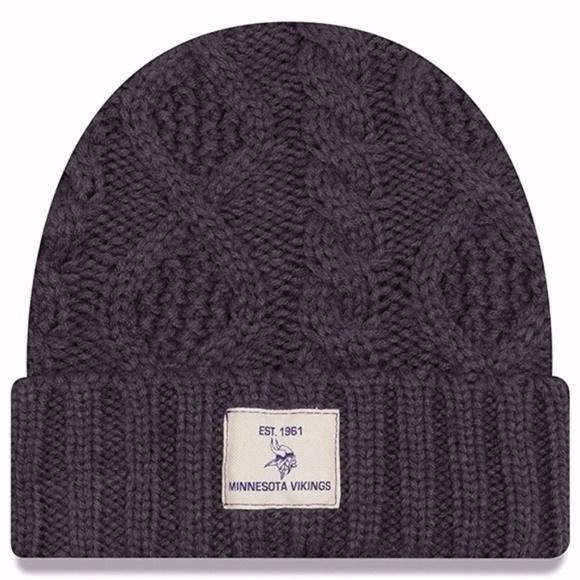 af45fff5b SOLD OUT Vikings Flurry Cuff Knit Beanie