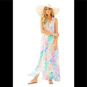 Lilly Pulitzer Ezra Beach Maxi Dress
