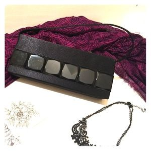 Handbags - Satin formal clutch with versatile strap option