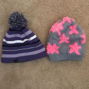 Other - Two girls Beanie hats