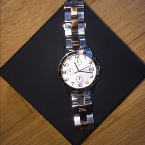 Marc by Marc Jacobs Silver and Rose Gold Watch