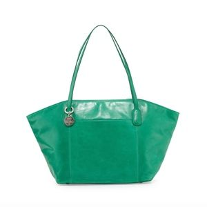 Hobo PATTI leather tote in PEACOCK rare!!!