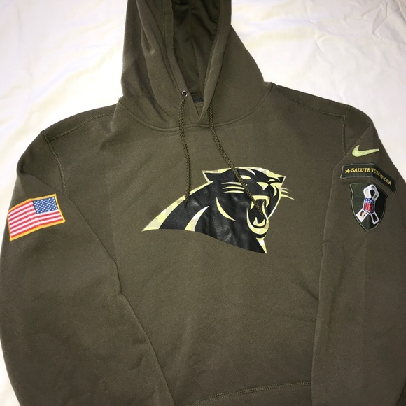 outlet store da845 264ad Carolina Panthers NFL Salute to Service sweatshirt