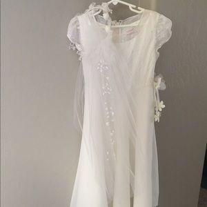American Girl Communion Dress & Veil