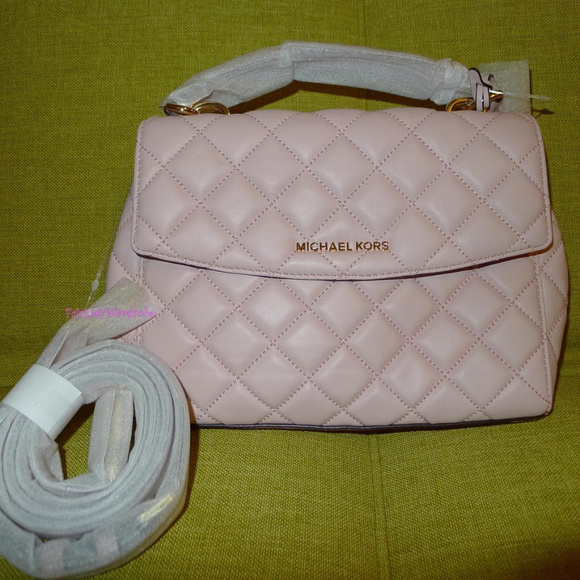 a2997a97c35f Michael Kors Ava Small Quilted Leather Satchel. M_59f235df56b2d6736e021811