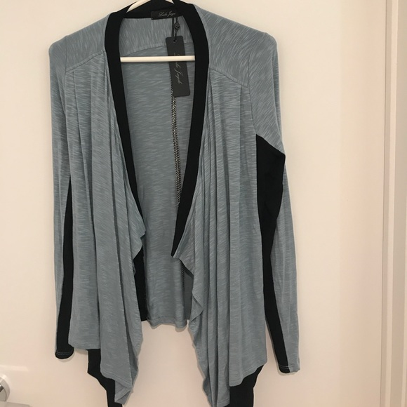 58% off Laila Jayde Sweaters - NEW WITH TAGS light blue waterfall ...