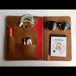 Accessories - Genuine Leather Portfolio Bag for Laptop or Tablet