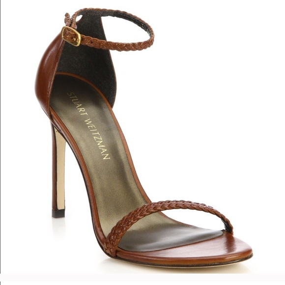 studded strappy sandals - Brown Stuart Weitzman OTSCF7