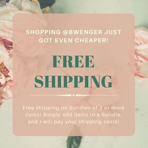 Other - FREE SHIPPING PROMO!