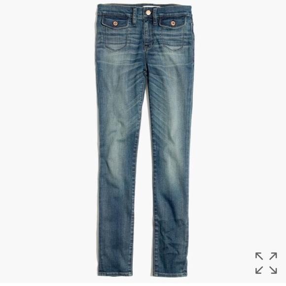 d38e3fcd3622c Madewell Denim - Madewell High Rise Skinny Skinny Crop Jeans