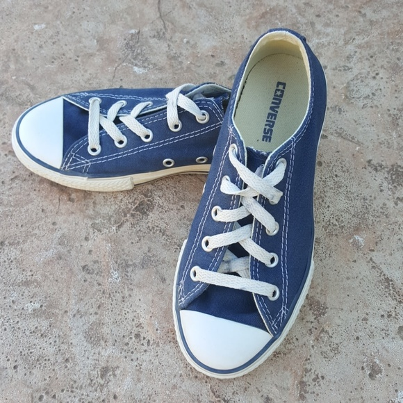 3c10aa142eb9 Converse Other - Converse All Star Navy Blue Sneakers Boys Girls 1