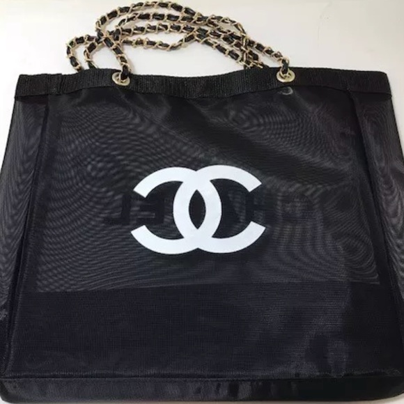 bddfccaa732e CHANEL Bags | Authentic Vip Gift Mesh Tote Price Firm | Poshmark