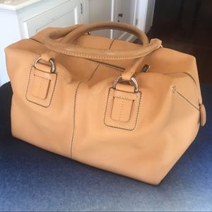 Tod's Smooth Leather Satchel Handbang Authentic