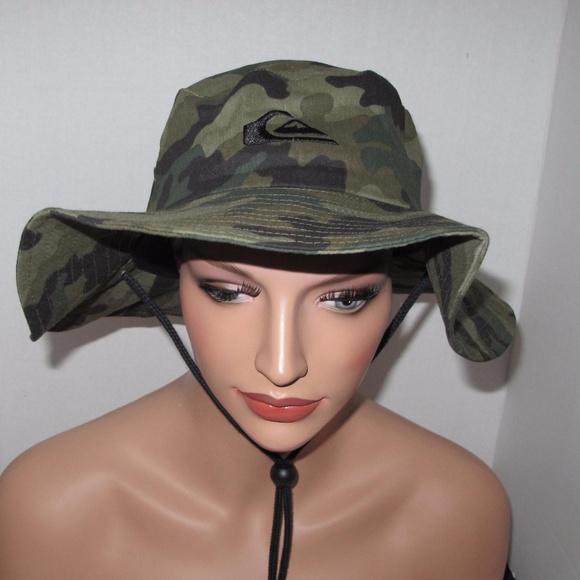 a04022955a19b Quiksilver™ Bushmaster Safari Hat Camouflage