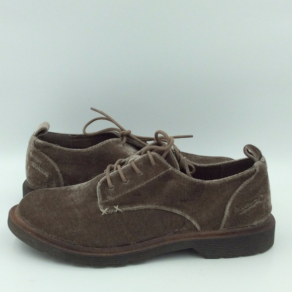 Coolway Velvet Claire Lace-Up Oxfords mTaNI9Y