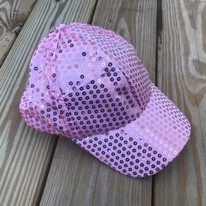 Accessories - Fancy Cap Womens Shinning Sequined Disco Hat Pink