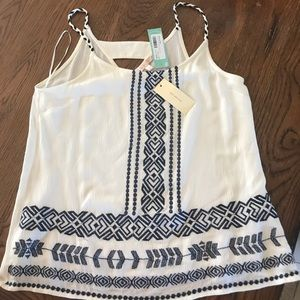 Cotton rope tank top