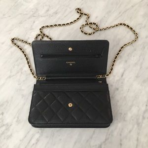 bef34ca5757164 CHANEL Bags | Chain Strap Crossbody Wallet Bag | Poshmark