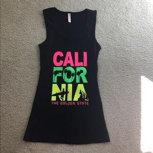 Tops - California tank top