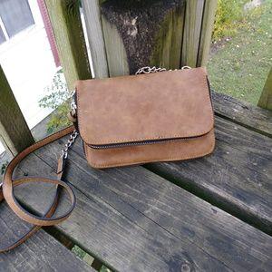 Faux leather Cross body purse