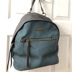 Handbags - NWT Peacock Blue Mini Backpack