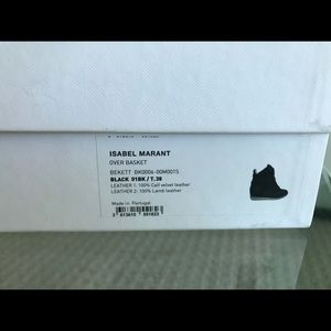 Isabel Marant Shoes - Isabel Marant Etoile Beckett Wedge Sneakers