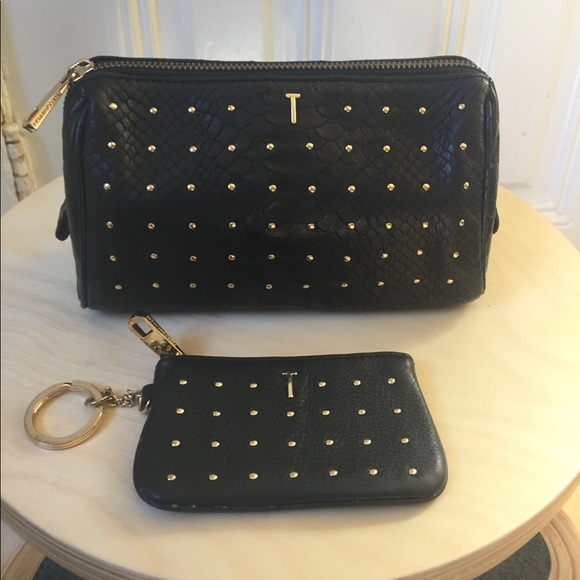 Rebecca Minkoff Bags - Rebecca Minkoff studded leather clutch and wallet