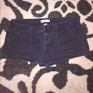 Hollister Navy Cargo Shorts Sz 7 MOVING SALE!