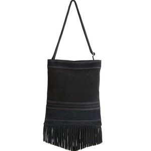 NWT Toms Suede Fringe Crossbody Bag