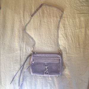 Rebecca Minkoff distressed leather crossbody purse