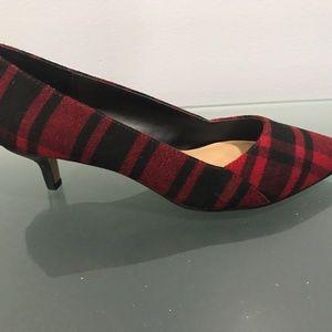 589da0d3e4 Sole Society Shoes - Sole Society Desi kitten heel pump in plaid 7