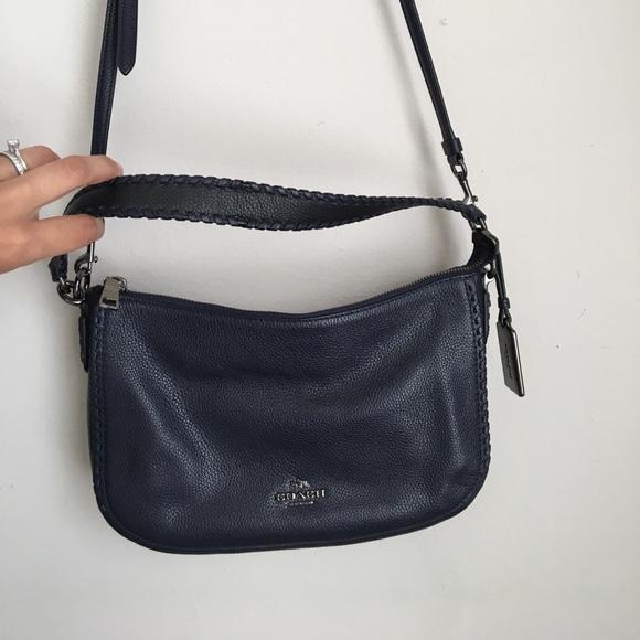 ... low price coach navy blue crossbody bag b5dd7 8dbaf 462288ccc6543