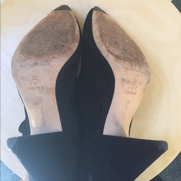 Loeffler Randall Shoes - Loeffler Randall black suede booties 8