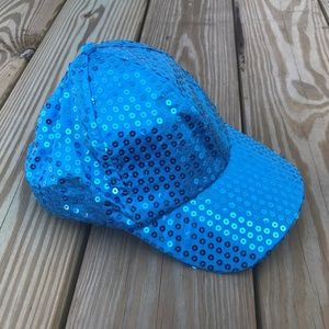 Accessories - Girls Hat Sequined Ball Fancy Cap Sparkle Hat Rave
