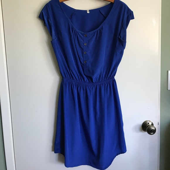 Willow & Clay Dresses & Skirts - WILLOW & CLAY | Blue Empire Waist Size S Dress