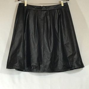 Dresses & Skirts - A line leather inspired skirt
