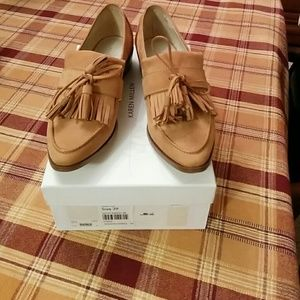 🆕Karen Millen leather tassels loafers