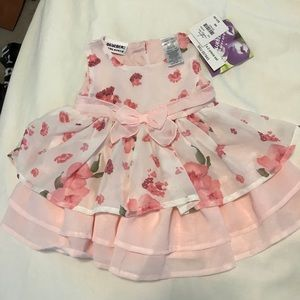 Other - Pink Floral Dress NWT