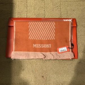 NWT missoni wool scarf