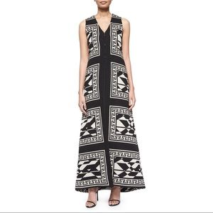 Alice & Oliva Geometric Print Long Vest