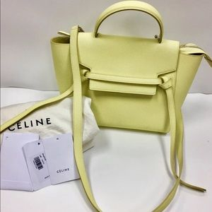 ♦️Sold♦️CELINE MICRO BERAMOTE BELT GRAINED CALFS