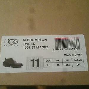 cb71bd97081 UGG Brompton tweed boots NWT