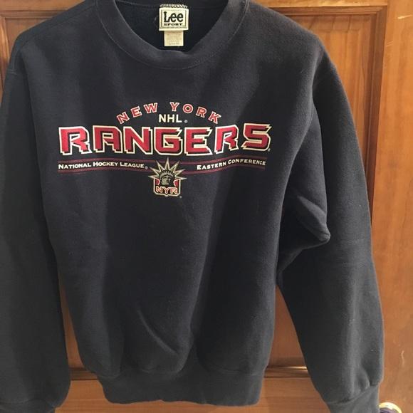 cba677916 Lee sport Other - New York Rangers boys sweat shirt size Large