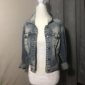 Silver Jeans Co denim jacket size medium