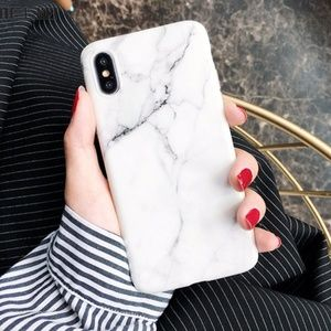 Accessories - iPhone X White Marble Case