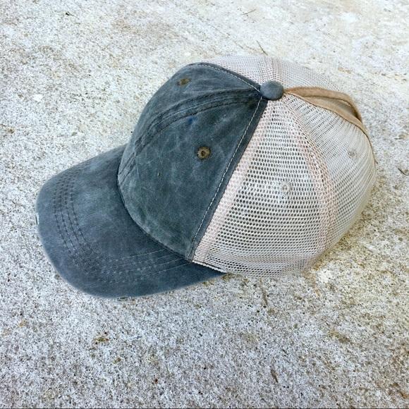 b90f9d678579c 2018 GLAMOUR PONYTAIL MESSY BUN TRUCKER CAP HAT