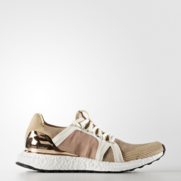 hot sale online 09157 ee352 Adidas Stella McCartney Rose Gold Ultra Boost