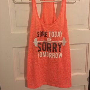 Tops - OMT Active Racerback CrossFit Tank size XL
