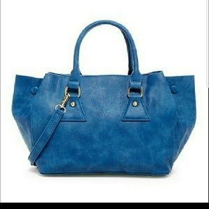 Handbags - Cinch it up bag blue